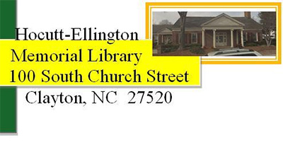 Hocutt-Ellington Memorial Library